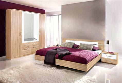 schlafzimmermöbel modern wandfarbe dunkle eichenm 246 bel