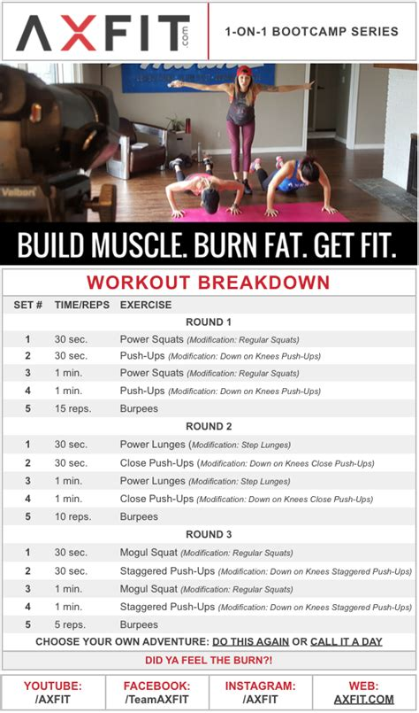 15 minute building burning hiit home workout