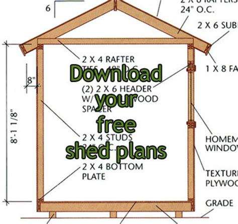 shed layout plans wooden shed plans free pdf plans