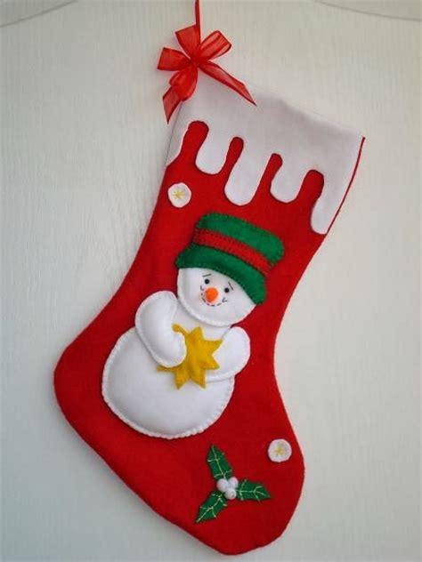 imagenes zapatos de navidad botas en fieltro navide as