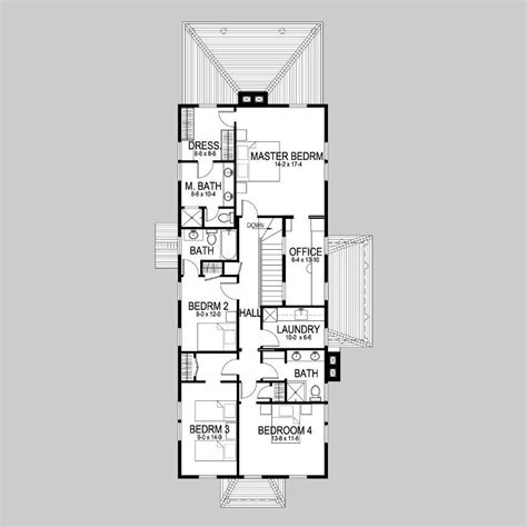 narrow row house plans narrow row house floor plans