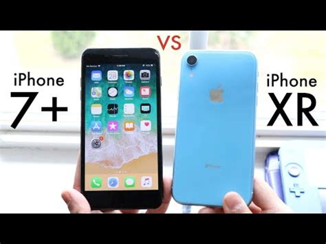 iphone xr vs iphone 7 plus! (should you upgrade?) (speed