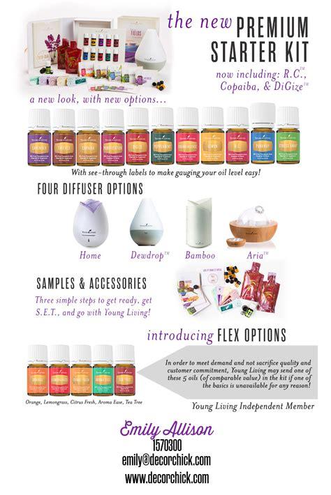 Living Kit Premium the new living essential oils premium starter kit