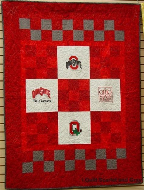 i quilt scarlet and gray scarlet and gray quilts past and
