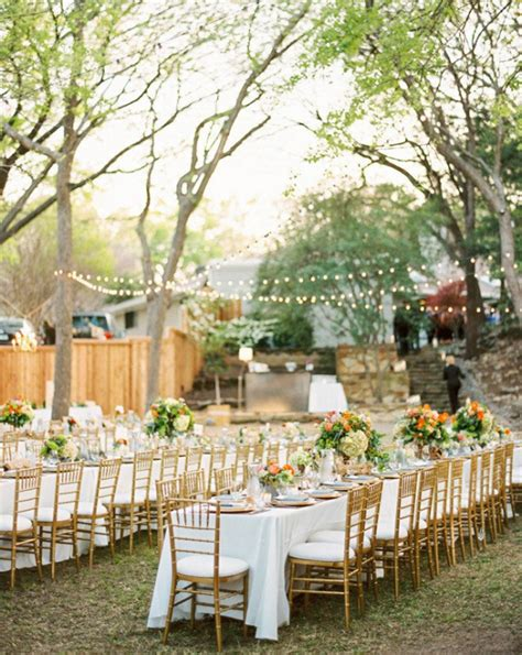 wedding outdoor reception outdoor wedding tables archives weddings romantique