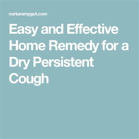 17 best ideas about persistent cough on cough