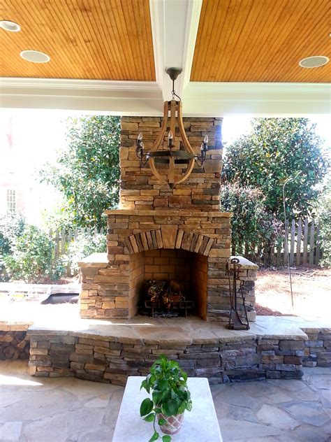 Paver Fireplace by Outdoor Fireplace Design Gallery Pavers