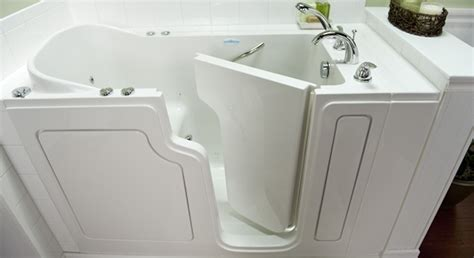 safe step walk in bathtubs safe step walk in tubs ada compliant bathrooms aids