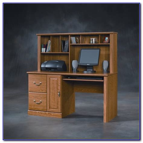 Sauder Orchard Hills Corner Computer Desk Desk Home Sauder Orchard Computer Desk With Hutch Carolina Oak