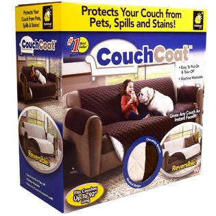 couch stiffeners as seen on tv as seen on tv couch coat reversible cover