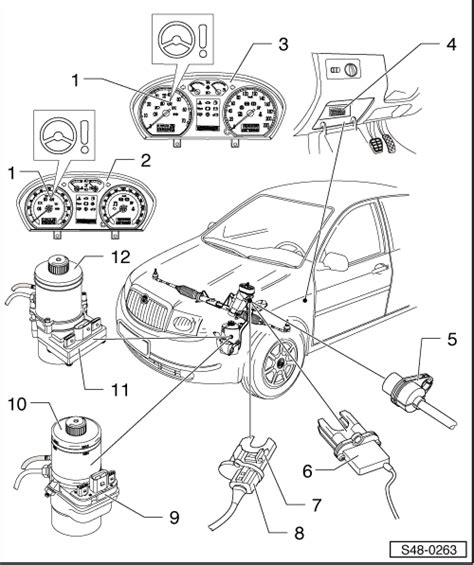 Skoda Fabia Electric Window Wiring Diagram Fasett Info Skoda Workshop Manuals Gt Fabia Mk1 Gt Chassis Gt Steering Gt Electric Electronic Components And