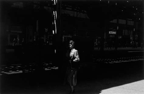 harry callahan the street harry callahan the street vancouver art gallery artsy
