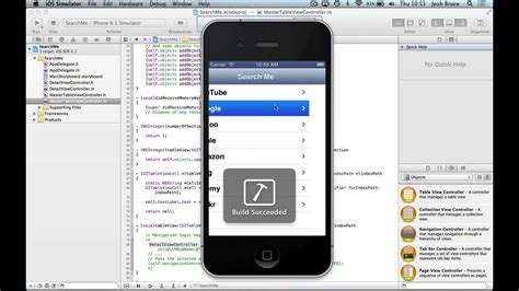 tutorial xcode 6 1 xcode 4 6 tutorial uitableview with search bar part 1