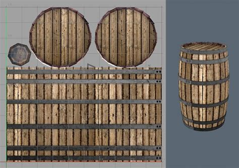 Wood Texture Painting - renderography creating textures in photoshop