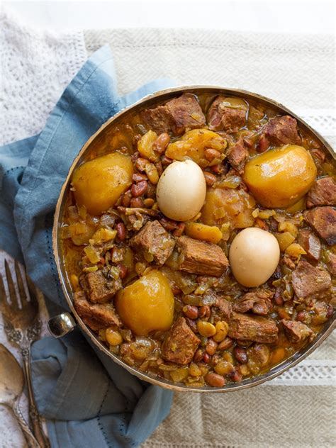 Pure Home Decor Cholent Jewish Slow Cooked Stew Recipe Amp History