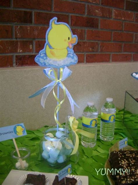 rubber duck baby shower centerpieces rubber ducky baby shower ideas