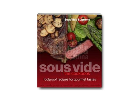 libro sous vide the cookbook ingls gadgets cuina