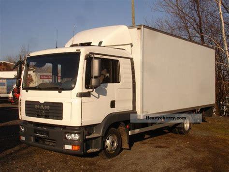 Sleeper Box Truck by Tgl 8 180 M 246 Belkoffer Lift Sleeper Cab 2007 Box