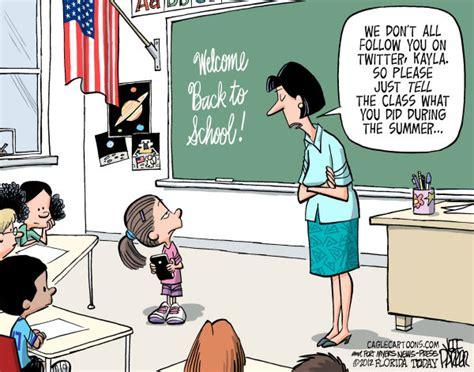 Back to School Cartoons Teachers