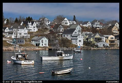 free boats ct picture photo lobstering boats and houses stonington