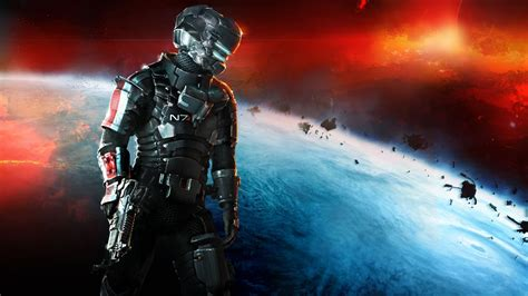 dead space  mass effect  armor wallpapers hd