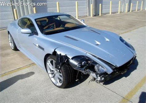 slammed aston martin photos 25 aston martins that were totaled in car wrecks