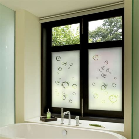 badezimmer privacy glas badezimmer fensterfolie design