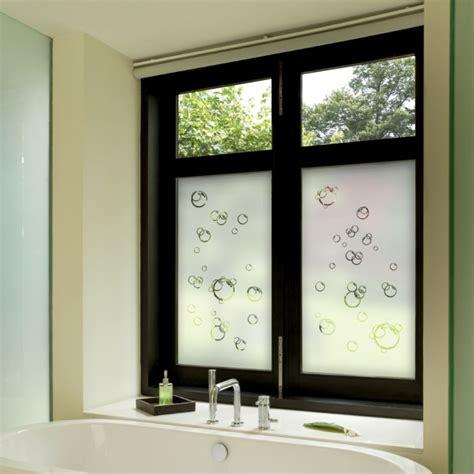 bad fenster badezimmer fensterfolie design