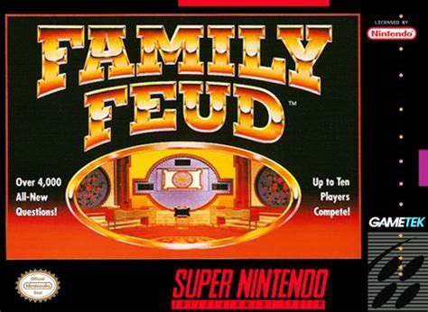family feud snes super nintendo