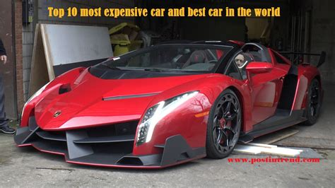 most expensive car in the the most expensive car in the updated