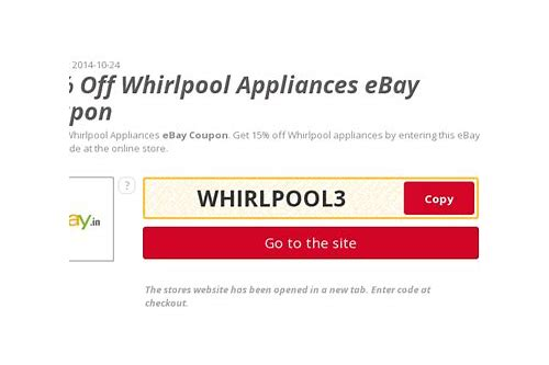 ebay welcome coupon codes