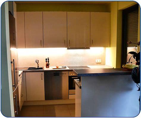 küchen hochglanz günstig beleuchtung k 252 che schienensystem