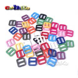 color slider 100pcs 5 8 quot mixed color slider tri glide adjust buckles