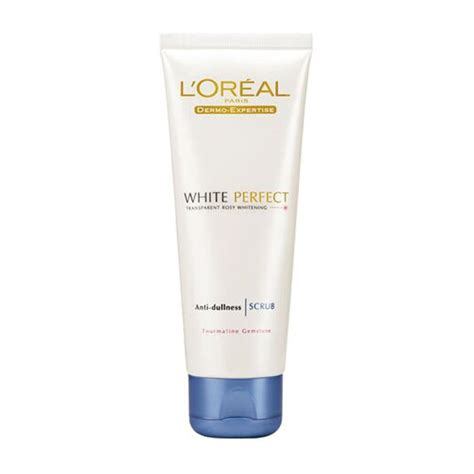 L Oreal White Scrub l oreal white anti dullness scrub 100 ml