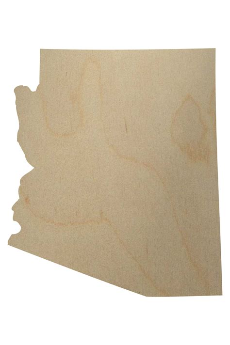 arizona woodworking arizona state wood shape arizona wood cutout