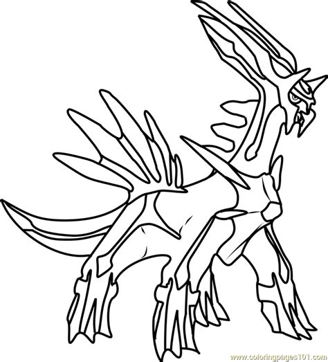 dialga pokemon coloring page free pok 233 mon coloring pages