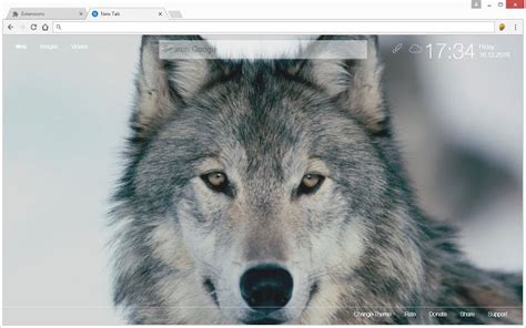 theme google chrome wolf wolf hd wallpapers new tab theme chrome web store