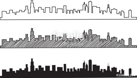 Free Online Architecture Design quot free hand sketch of chicago skyline vector illustration