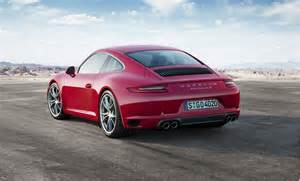 Price Of A Porsche 911 S 2017 Porsche 911 Revealed With Turbocharged Engine
