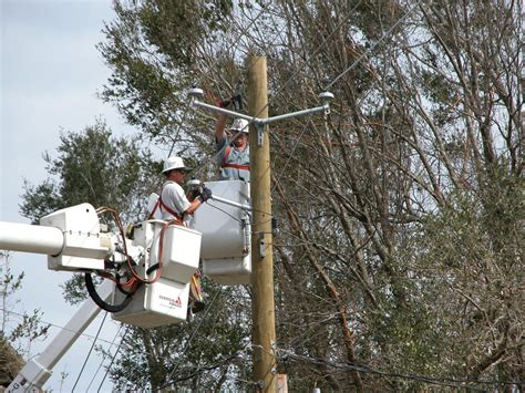getting ready for d day power line gulf power more storm ready 10 years after ivan wuwf
