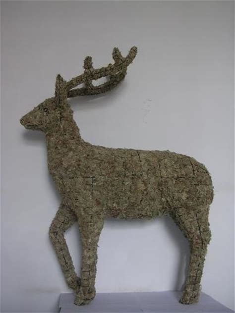 deer topiary deer topiary frame with moss china deer wire topiary