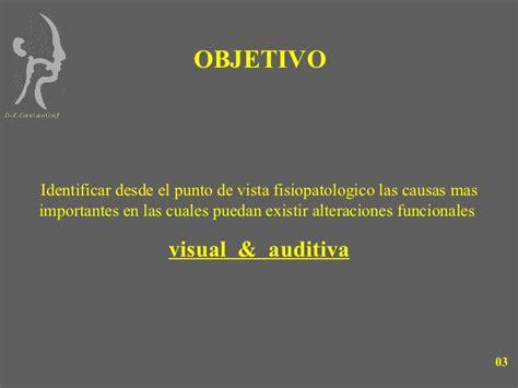 imágenes visuales y auditivas 8 alteraciones visuales y auditivas