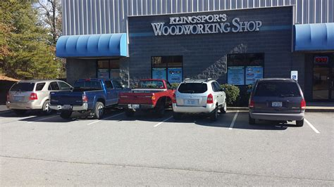 klingspors woodworking shop  fletcher nc