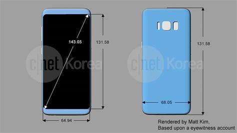Galaxy S8 / S8 Plus : les dimensions d'écran et le design