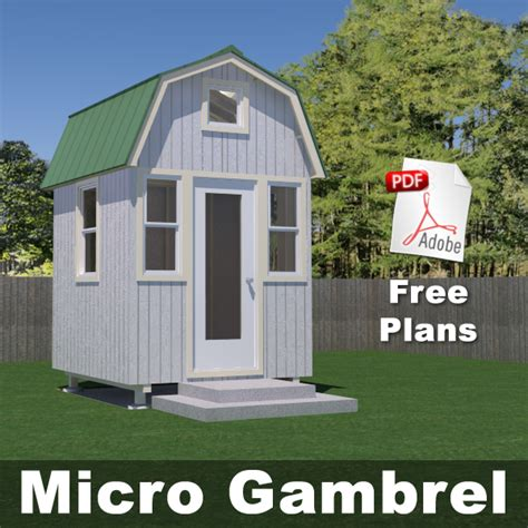 micro housing plans free plans tiny house design