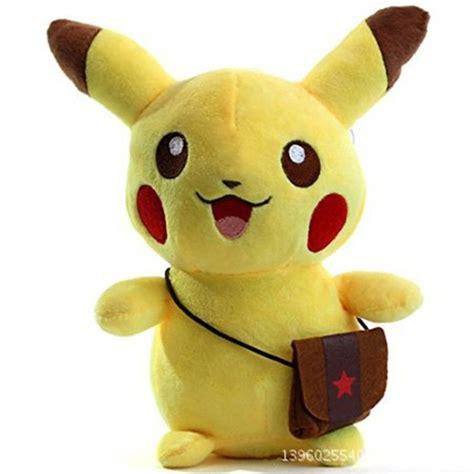 Boneka Pikachu L pikachu figures soft stuffed plush doll