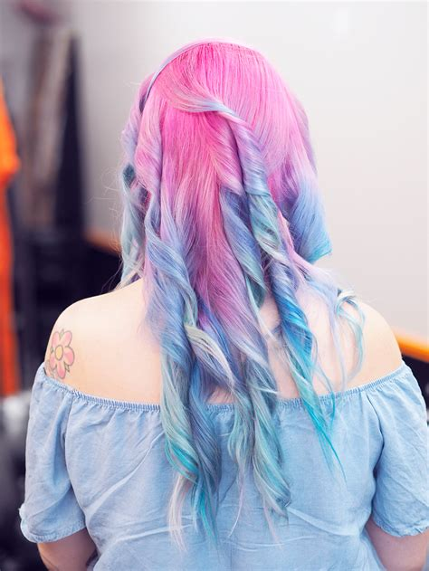 Rainbow Hair with Bed Head by Tigi - Lazy Kat Rainbow Hair Tumblr