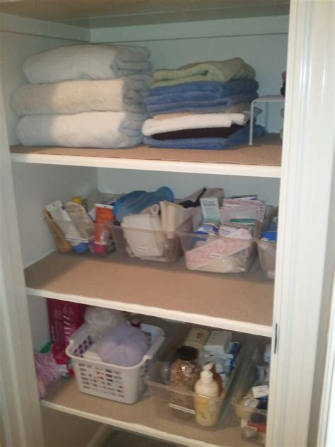 cabinets shelving how to organize a small blue ladies picturesque organized linen closet photos roselawnlutheran