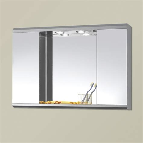 wall mirror cabinet bathroom