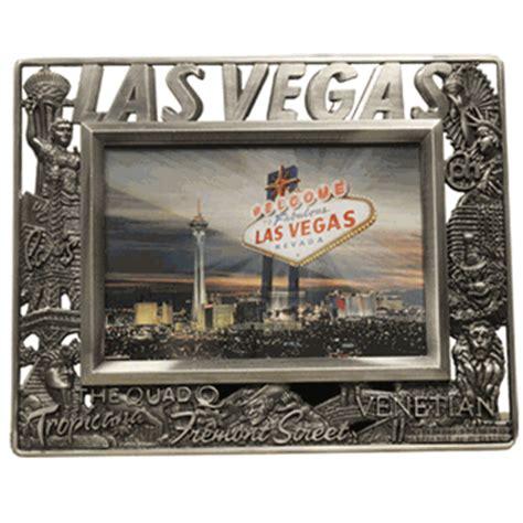 metal pewter quot las vegas quot picture frame las vegas gift shop las vegas photos las vegas